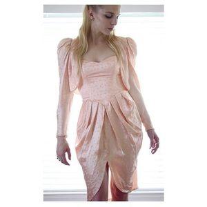 Peaches 'n Leaves Dress/Bolero Set
